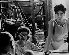 Bette Davis and Joan Crawford unhappy on set movie stars 8x10 photo