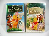 Walt Disney The Many Advenrtures of Winnie The Pooh & Poohs Grand Adventure VHS