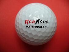 Pelota de golf con logo-redneck Martinville-golf logotipo pelota como recuerdo regalo......
