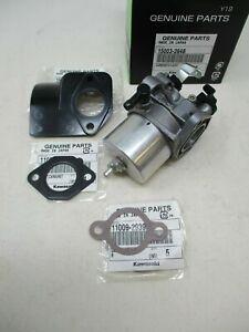 Carburetor 15003-2648 Kaw Gasket 11009-2827, 11009-2939, 16073-2154 Insulator
