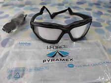 Pyramex I-Force Safety Glasses Goggles Dual Pane Anti-Fog High Impac STSB7010SDT