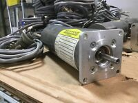 Baldor MT-2250 DC Servomotor NEMA 23, 50oz/in 40VDC 5.5A 5000RPM w/Cable *Tested