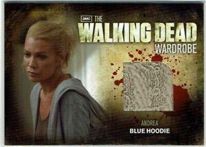 The Walking Dead Season 2 - 2012 Wardrobe Costume Card M5 Andrea Blue Hoodie