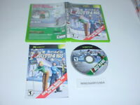 OUTLAW GOLF: 9 MORE HOLES OF X-MAS game in case w/ manual for MICROSOFT XBOX