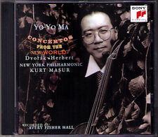 Yo-Yo MA: DVORAK & HERBERT Cello Concerto KURT MASUR CD Cellokonzerte SONY 1996