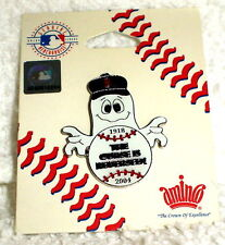 BOSTON RED SOX 2004 WORLD SERIES champs CHAMPIONS CURSE REVERSED GHOST PIN