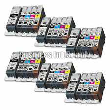 30 PACK PGI-220 CLI-221 Ink Tank for Canon Printer Pixma MX860 MX870 MP560