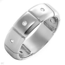 New Band Ring With Cubic zirconia Designed in 925 Sterling Silver