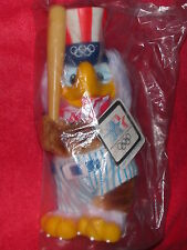 SAM THE EAGLE MASCOT BASEBALL LOS ANGELES 1984 OLYMPICS SOUVENIR FIGURE UNOPENED