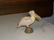 Pelican Composition Figurine Austria 3 inches tall circa 1920s