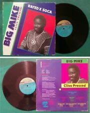 LP 33 Giri Single Big Mike Rated X Soca Soca Ding A Ling/Soca Bang Bang no cd mc