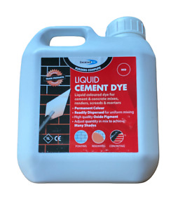 Bond It | Liquid Cement Dye | RED Pigment Mortar Render | 1 Ltr