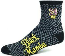 Kobe Bryant NBA Black Mamba Los Angeles Lakers #24 Quarter Socks