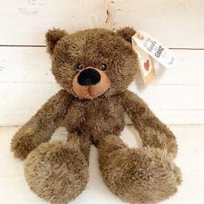 Ganz Wooly Soft Brown Plush Teddy Bear New