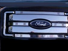 Winter Front 011 012 013 2014 2015 2016 Ford F250 - F450 Stainless Steel Inserts