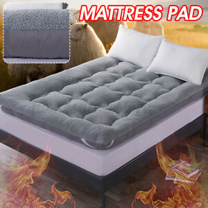 Comfortable Lambskin Mattress Thickened Tatami Foldable Bed Cushion Mat Cover