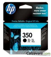 HP CARTUCCIA ORIGINALE NERO 350
