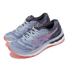 Asics Gel-Nimbus 23 Azul Naranja Blanco para Mujeres Zapatos Correr Deportes 1012A885-412