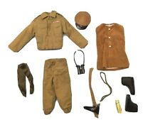 Vintage Action Man British Infantry Major Outfit - Mint 100% Complete