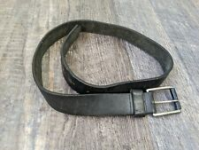 "Men's J.Crew Black Leather Belt 36"""