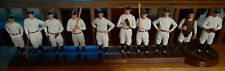 "1927 Ny Yankees ""Murderers Row"" Danbury Mint Ten Figurines (Ruth, Gehrig,.)"