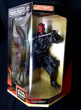 "Star Wars Darth Maul 12"" Inch Electronic Mega-Collectible Action Figure New"