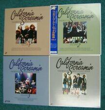 CALIFORNIA SCREAMIN West Coast Rock 4 volumes Laserdisc Eagles QMS Doors Byrds+