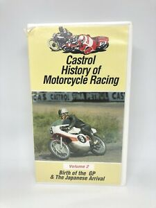 CASTROL HISTORY OF MOTORCYCLE RACING VOLUME 2 Rare Very Good Condition FREE SHIP