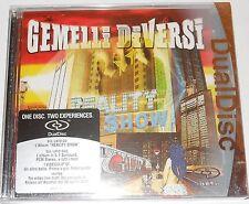 CD + DVD nuovo incelofanato  GEMELLI DIVERSI - REALITY SHOW - DUALDISC