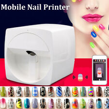 Pro DIY Nail Printer Machine Transfer Picture + Design For Iphone+Android Mobile