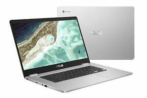 "Asus C523NA-DH02 15.6"" Chromebook Intel Dual-Core Celeron 1.1GHz 4GB 32GB EMMC"