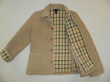 MISSES 346 BROOKS BROTHERS QUILTED CORDUROY BARN JACKET COAT SZ 6 HEAVY WARM