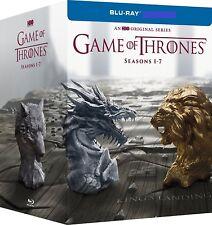 Game of Thrones: Complete Seasons 1-7 (Blu-ray, 2017) NO DIGITAL 1 2 3 4 5 6 7