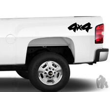 4X4 sticker chevy Ford Dodge V1 truck off road decal X2 both sides
