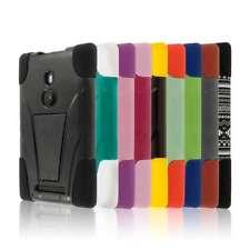 Tough Durable Hybrid Kickstand Case Cover Protector for Nokia Lumia 925