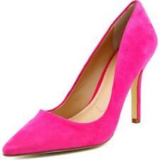 Zapatos de tacón de mujer de tacón alto (más que 7,5 cm) de color principal rosa de ante