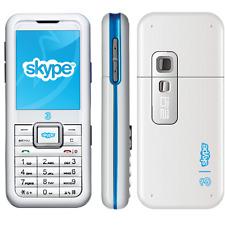 SKYPE PHONE 3 Cellulare Per Videochiamate Bianco Usato Come Nuovo Originale