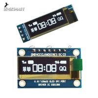 """0.91"""" IIC I2C SPI OLED Serial LCD Display 128x32 3.3V/5V AVR PIC STM32 Arduino"""