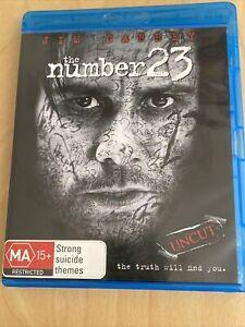 The Number 23 (Blu-Ray) Like New Jim Carrey Region B