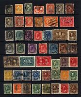 Canada #15-#MR7 1859-1917 M&U Lot 47 items
