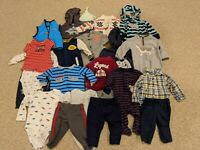Carter's Lot of 22 Piece Baby Infant Boy Clothes 3 Months Carters Fall/Winter