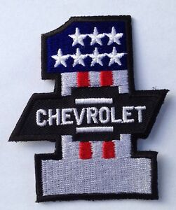 CHEVROLET #1 CLOTH PATCH BEL AIR IMPALA CAMARO CORVETTE 283 307 327 350 396 454