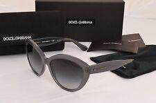 Dolce & Gabbana Sunglasses DG4239 2915/8G Cat Eye Gray Gradient Womens 56MM New