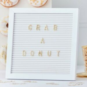 Ginger Ray Peg Board Birthday Party Wedding Personalise Message Stand