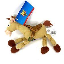 "Disney Store Toy Story 2 Bullseye The Horse Beanie Toy 8"""