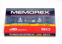 Memorex dB 90  Kassette Cassette TYPE I NEW OVP 1985