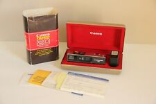 Canon 110ED 20 Camera Outfit Compact Rangefinder Film Camera EXCELLENT