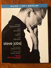 Steve Jobs (Blu-ray/DVD, 2016, 2-Disc Set, Includes Digital Copy)