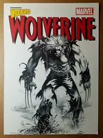 Wolverine X-Men Marvel Comic Poster by Andy Kubert