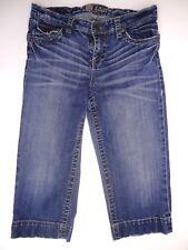 Kut from the Kloth Denim Capri Distressed Stretch Jeans Size 8